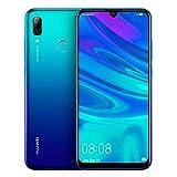 Huawei P Smart 2019 - Smartphone de 6.2', 3 GB RAM, 64 GB, 13 MP + 2 MP, Dual SIM, Funda incluida, Color Azul