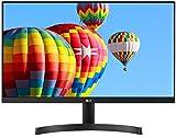 LG 24MK600M-B - Monitor FHD de 60,4 cm (23,8') con Panel IPS (1920 x 1080 píxeles, 16:9, 250 cd/m², NTSC 72%, 1000:1,...