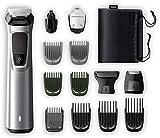 Philips Barbero MG7720/15 - Recortador de barba y precisión 14 en 1 tecnología Dualcut, autonomía de 120 minutos,...