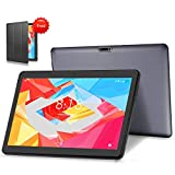 LNMBBS 4G LTE Tablet 10.1' Full HD Tableta Android 10.0 OS, 4GB de RAM y 64 GB de Memoria, WiFi GPS Buletooth Soporta...