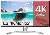 LG 27UL650-W - Monitor 4K UHD de 68,6 cm (27') con Panel IPS (3840 x 2160 píxeles, 16:9, 350 cd/m², sRGB 99%, 1000:1,...