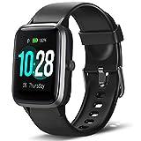 Lintelek Smartwatch de Pantalla táctil,Pulsera Actividad con Monitor de Pasos, Calorías, Sueño y Ritmo Cardíaco,...