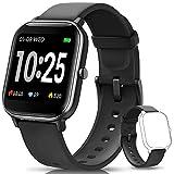 AIMIUVEI Smartwatch, Reloj Inteligente IP67 con Pulsómetro, Presión Arterial, 7 Modos de Deportes, Monitor de Sueño...