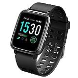 LATEC Pulsera Actividad Reloj Inteligente Impermeable IP68 Smartwatch Pantalla Táctil Completa con Pulsómetro...
