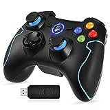 EasySMX Mando para PC, [Regalos Originales] Mando Inalámbrico PS3 Gamepad Wireless Compatible con Windows XP y Vista,...