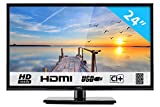 "HKC 24C2NB 24"" (60.50cm) LED TV ( FHD 1920x1080, TRIPLE TUNER, DVB-T/T2/C/S/S2, H.265 HEVC, CI+, Mediaplayer via USB..."