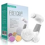 VOYOR 5 En 1 Cepillo Limpiador Facial Electrico Limpieza Facial Minimizador de Poros Removedor de Piel Muerta Cepillo...