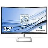 Monitor PHILIPS 328E9QJAB Pantalla para PC Curvo DE 32' FHD (RESOLUCIÓN 1920X1080, FRESSYNC, FLICKERFREE, LOWBLUE Mode,...