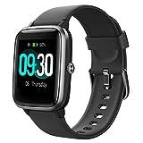 Willful Smartwatch,Reloj Inteligente con Pulsómetro,Cronómetros,Calorías,Monitor de Sueño,Podómetro Pulsera...