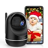 Victure Cámara Vigilancia WiFi, Actualizada 1080P DualBand 2.4G & 5G, Cámara IP WiFi, HD Visión Nocturna, Audio de 2...