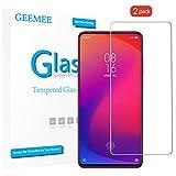 GEEMEE (2 Pack Protector de Pantalla para Xiaomi Redmi K20 Pro, Cristal Templado Película Vidrio Templado 9H Alta...