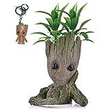 Kyhon Baby Groot Maceta - Maravillosa Figura de acción de Guardians of The Galaxy para Plantas y bolígrafos y Plumas...