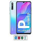 HUAWEI P Smart S - Smartphone con Pantalla OLED de 6.3' (4GB de RAM + 128GB de ROM, Cámara Triple IA de 48MP, Lente...