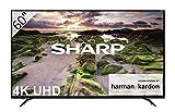 Sharp LC-60UI9362E - Smart TV Slim UHD de 60' (resolución 3840 x 2160, HDR+, Sonido Harman/kardon, 3X HDMI, 3X USB,...