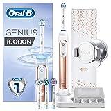 Oral-B Genius 10000N Sensi Ultrathin - Cepillo Eléctrico, 1 Oro Rosa Mango Conectado, 6 Modos Blanqueado, Sensible,...