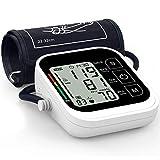 Oudekay - Monitor de presión arterial digital para uso doméstico, medición automática de la presión arterial y...