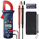 AstroAI Pinza Amperimétrica Profesional RMS, Multímetro Digital Automático, Medidor de Voltaje CA/CC, Corriente...