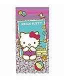 Hello Kitty Toalla, Sintético y Algodón, Multicolor, 140x1x70 cm