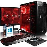 VIBOX Standard 3A Gaming PC Ordenador de sobremesa con Cupón de Juego, Windows 10 Pro OS, 22' HD Monitor (3,4GHz AMD A8...