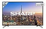 Sharp LC-55UI8652E - UHD Smart TV Slim de 55' (resolución 3840 x 2160, HDR+, 3X HDMI, 2X USB, 1x USB 3.0) Color Negro