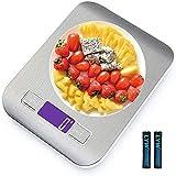 Báscula de cocina,Smart Digital Báscula con Pantalla LCD para Cocina de Acero Inoxidable