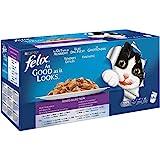 Purina Felix Fantastic comida para gato surtido variado Pack 44 x 100 g
