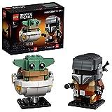 LEGO Star Wars BrickHeadz - El Mandaloriano y El Niño, Set de Construcción con los Personajes de Mandalorian, incluye...