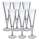 Bormioli Rocco Ypsilon - Copas de champán (110 ml, 6 Unidades)