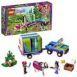 LEGO Friends - Remolque del Caballo de Mia Nuevo juguete de construcción de Coche con Remolque, incluye dos mini...