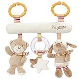 Fehn  Juguete colgante para bebé blanco arco iris