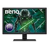 BenQ GL2780 - Monitor Gaming de 27' FullHD (1920x1080, 1ms, 75Hz, HDMI, DisplayPort, DVI, VGA, Altavoces, Eye-care,...