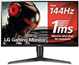 LG 27GL650F-B - Monitor Gaming FHD de 69 cm (27') con Panel IPS (1920 x 1080 píxeles, 16:9, 1 ms con MBR, 144Hz,...