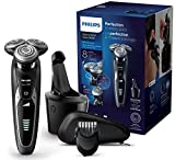 Philips Serie 9000 S9531/31 - Máquina de afeitar con cabezales de 8 direcciones, seco/húmedo, 3 modos y sistema de...