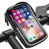 LEMEGO Bolsa Bicicleta Manillar para Ciclista Ciclismo, Bolso de Bici Impermeables Soporte Móvil teléfono para...