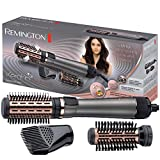 Remington Keratin Protect AS8810 - Moldeador de pelo y Cepillo Térmico, Cerámica, Keratina y Aceite de Almendra, 1000...