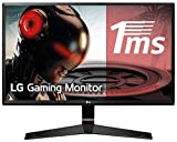 LG 24MP59G-P - Monitor Gaming FHD de 60 cm (24') con Panel IPS (1920 x 1080 píxeles,  16:9,  1 ms con MBR,  75Hz,  250...