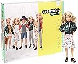 Creatable World Figura Unisex, muñeco articulado, pelucas rubio platino y accesorios (Mattel GGT67) , color/modelo...