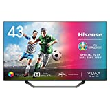 Hisense H55BE7400 - Smart TV 55' 4K Ultra HD, 3 HDMI, 2 USB, Salida Óptica, WiFi, Bluetooth, Dolby Vision HDR, Wide...