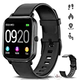 NAIXUES Smartwatch, Reloj Inteligente Impermeable IP67 Reloj Deportivo 1.4' Pantalla Táctil Completa con Pulsómetro,...
