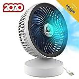 KLIM™ Breeze - Ventilador USB de Escritorio de Alto Desempeño – Ventilador de Mesa – Silencioso y Ajustable -...