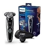 Philips Serie 9000 S9711/41 - Máquina de afeitar con cabezales de 8 direcciones, seco/húmedo y 3 modos, 60 min de...