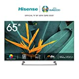 Hisense H65BE7400 Smart TV 65' 4K Ultra HD, 3 HDMI, 2 USB, Salida Óptica, WiFi, Bluetooth, Dolby Vision HDR, Wide Color...