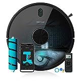 Cecotec Robot Aspirador Conga 5490. Tecnología láser, 10.000 Pa, Cepillo Jalisco, Room Plan,App, Cepillo Especial...