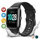 Vigorun Reloj Inteligente Pantalla Táctil Smartwatch para Hombre Mujer Niños Impermeable IP68 Pulsera Actividad Reloj...