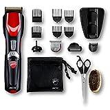 Imetec Ducati - Gk 818 Race - Kit Recortador de barba, 16 en 1 para cara y cuerpo, cuchillas Revestidas de Titanio,...