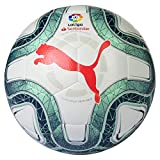 PUMA Laliga 1 Hybrid Balón de Fútbol, Unisex Adulto, Rosa (Pink Alert-Yellow Alert-Green Glimmer), 4