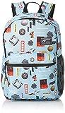 PUMA Academy Backpack Mochilla, Unisex Adulto, Light Sky/Logo AOP, OSFA