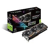 ASUS STRIX-GTX1070-8G-GAMING - Tarjeta gráfica (Strix, NVIDIA GeForce GTX 1070, 8 GB, GDDR5, DVI, HDMI, DP) Color Negro