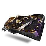 Gigabyte AORUS GeForce RTX 2080 Xtreme 8 GB GDDR6 - Tarjeta gráfica (GeForce RTX 2080, 8 GB, GDDR6, 256 bit, 7680 x...