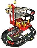 Bburago 15631204 - Garaje de Ferrari con dos coches (escala 01:43) [importado de Alemania]
